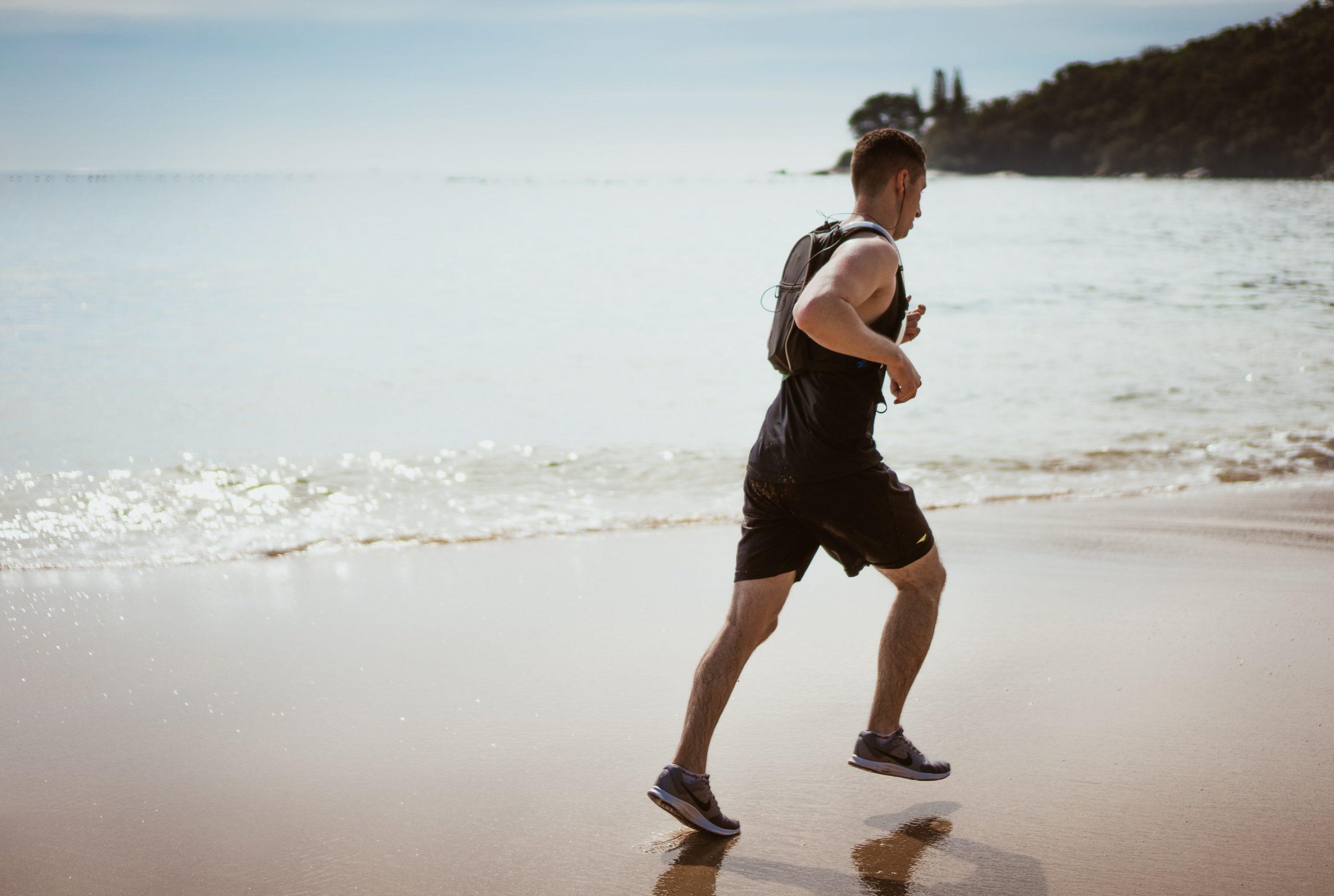 correre in spiaggia venezia jesolo