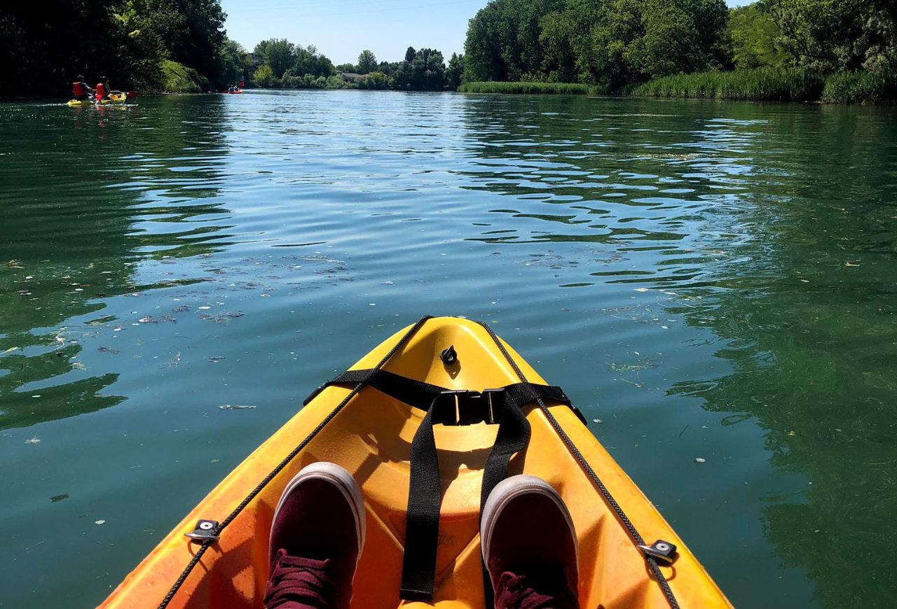 Kayak sul Sile